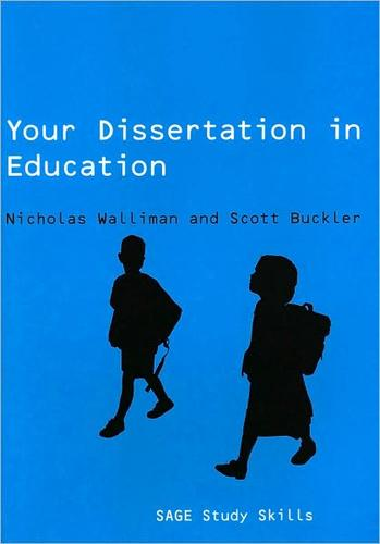 published dissertations education